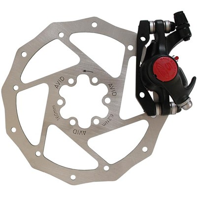 (00.5016.166.060) Тормоз Avid BB5 MTB Black 160mm G2CS Rotor Front/Rear